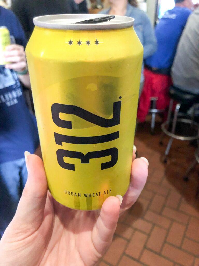 312 beer in Chicago