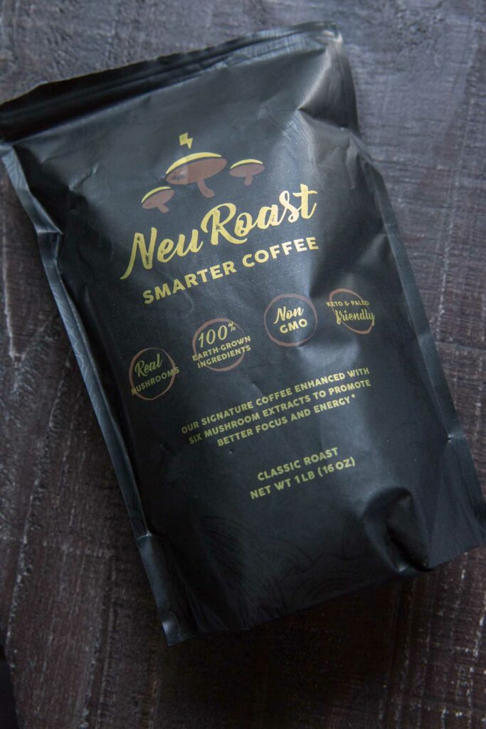 Neuroast classic blend smarter coffee bag