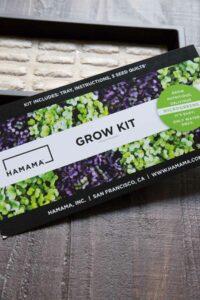 Hamama grow kit