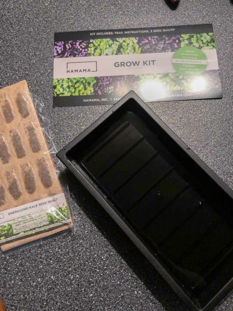Hamama microgrens kit and tray