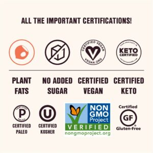 superfat nut butter certifications dietary
