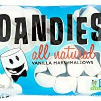 Dandies - Vegan Marshmallows, Vanilla, 10 Ounce (Pack of 2)