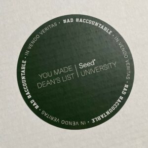 You made deans list - seed University