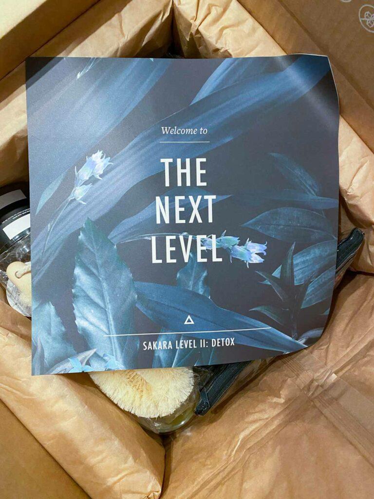 sakara detox box - the next level