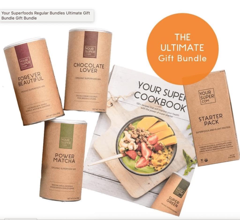 yoursuperfoods ultimate gift bundle
