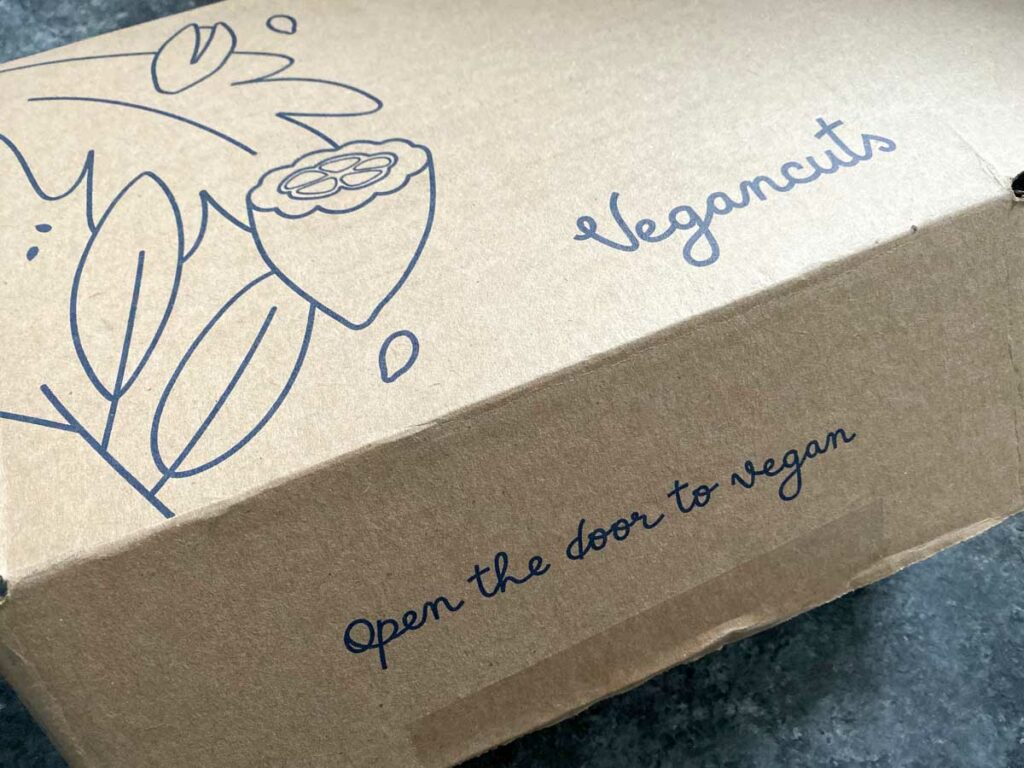 VeganCuts box - open the door to vegan
