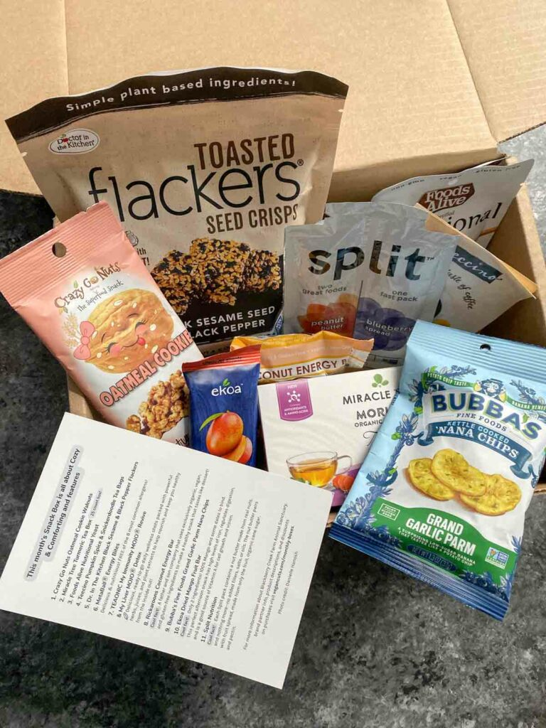 Vegancuts snack box preview