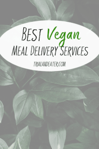 Meal delivery services don't always include an option for those who eat a vegan or a dairy-free diet - but these are a few of the best ones we've tried who do!