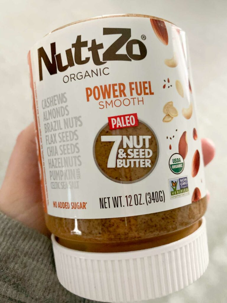 Nuttzo power fuel bottle from Thrive
