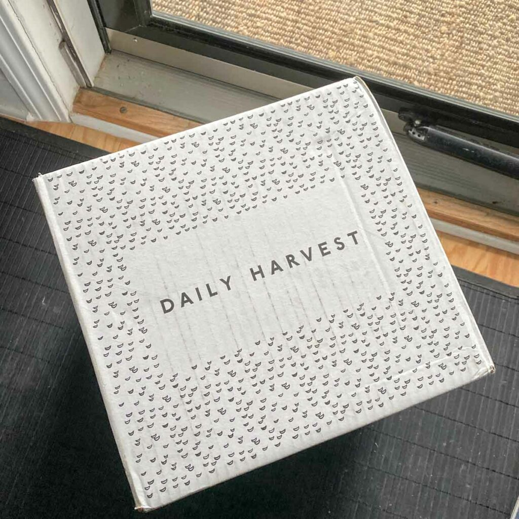 Daily Harvest delivery box