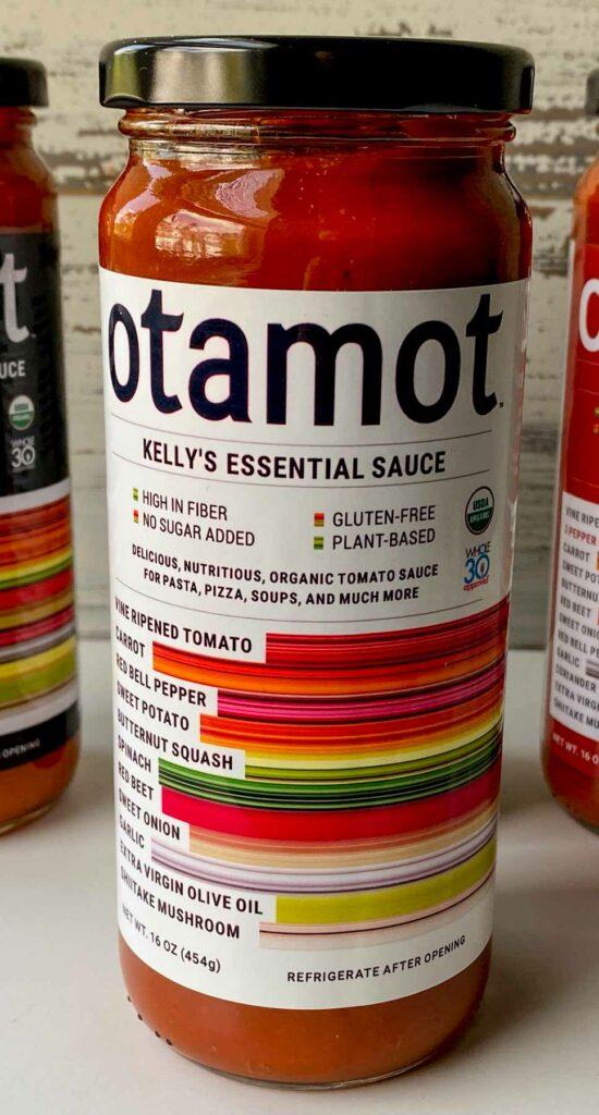 Personalized jar of Otamot sauce
