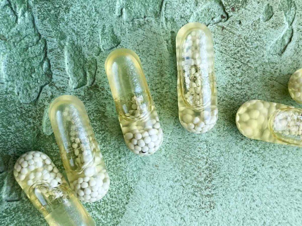 close-up shot of ritual womens essential vitamins