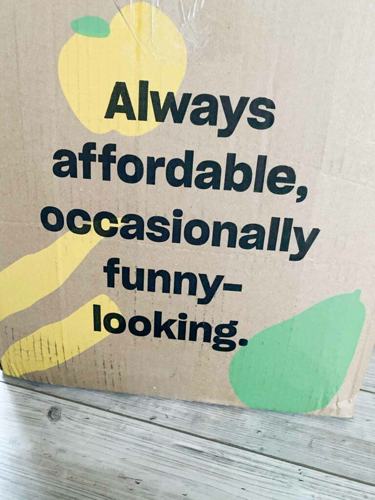Always affordable, occasionally funny-looking Misfits Market box