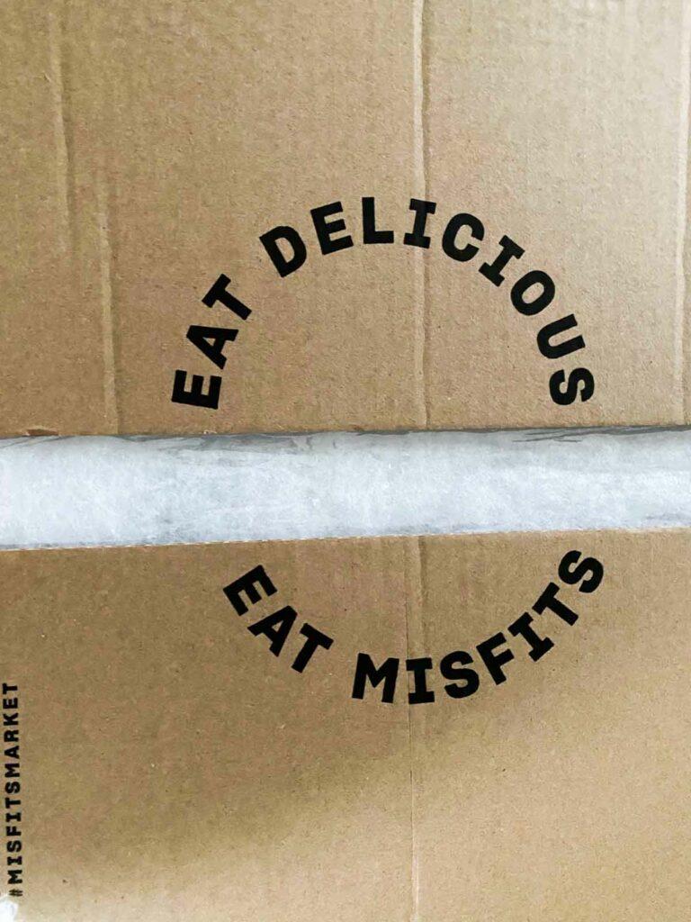 Eat Delicious, Eat Misfits. Misfits Market box