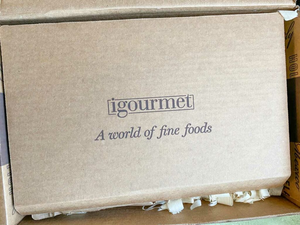igourmet logo on gift box
