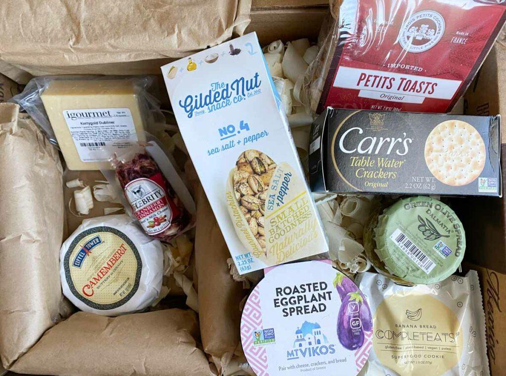 vegetarian lifestyle gift box from igourmet