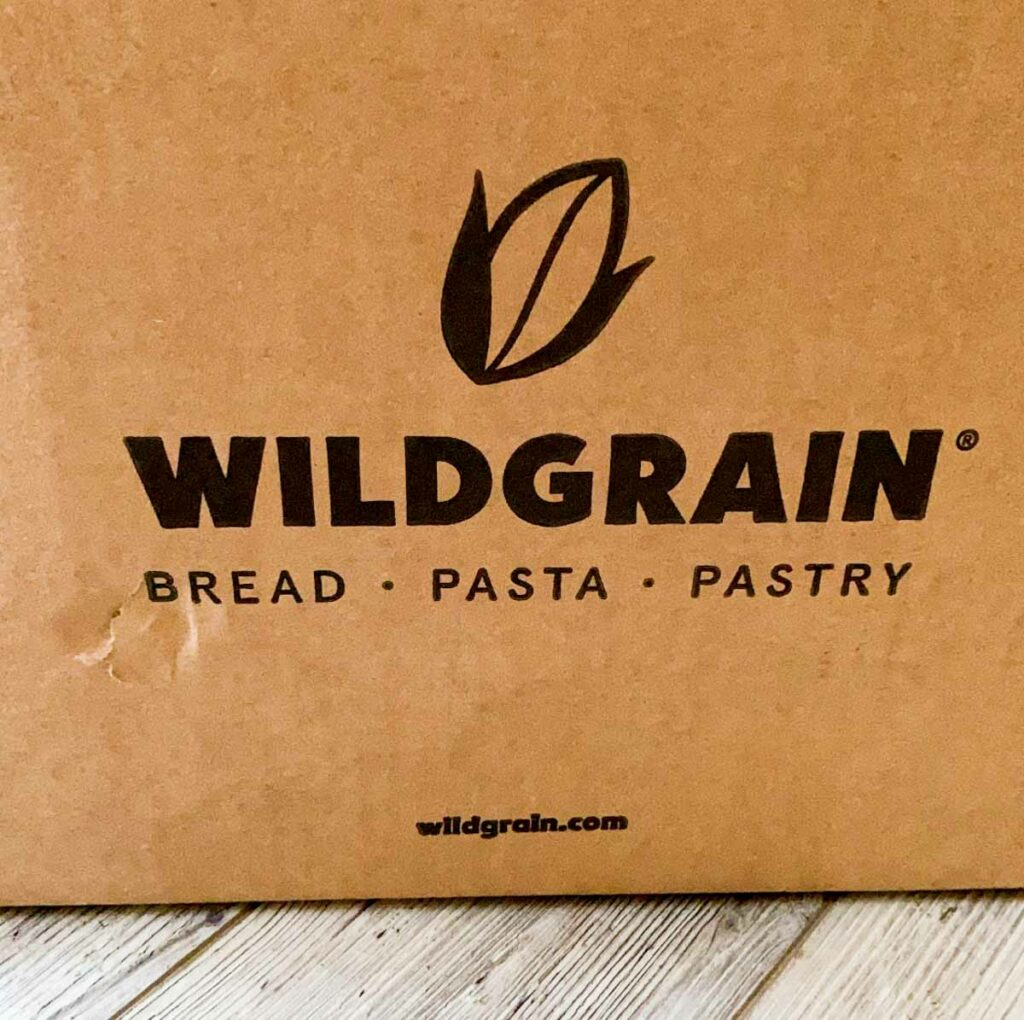front of wildgrain delivery box