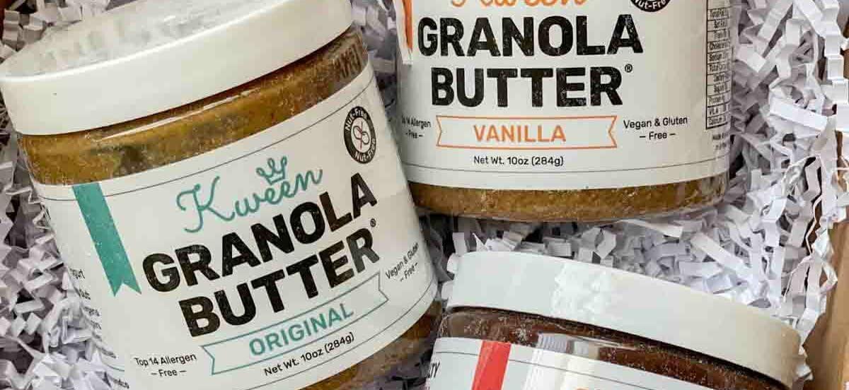 Granola Butter | Nut-free, School-safe Peanut Butter Alternative