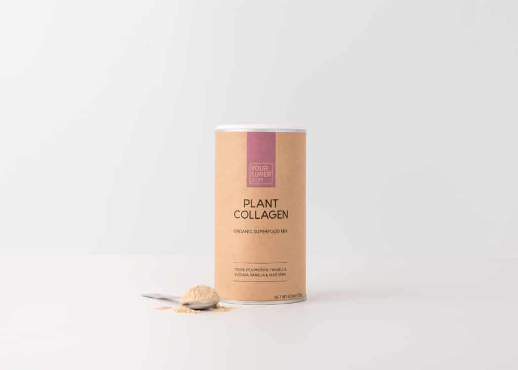 canister of your super plant collagen
