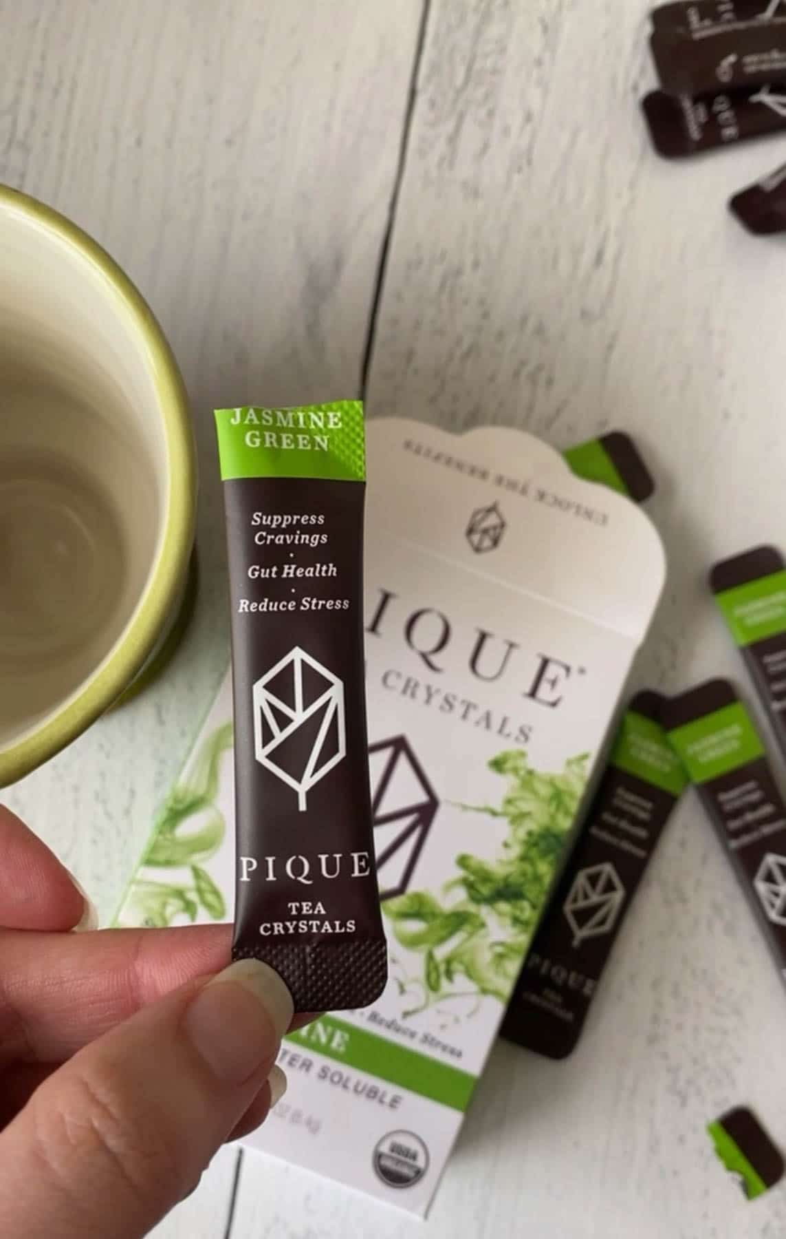 english breakfast tea packet from Pique