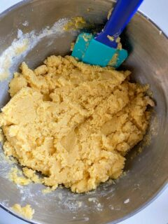 Trader Joe's corn cookie batter
