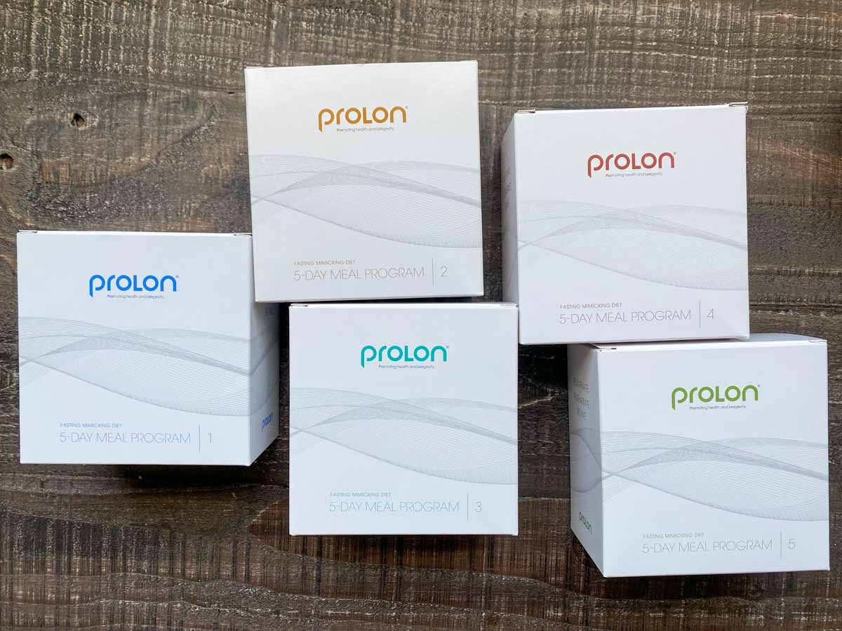 5 boxes of prolon