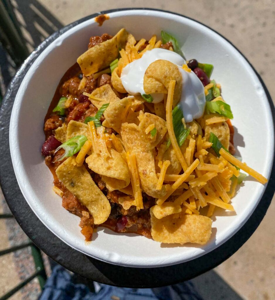 Earth Eats Impossible 3-bean chili